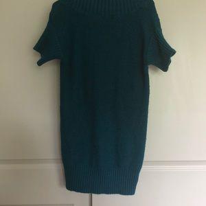 Alfani Tops - Alfani teal sweater tunic